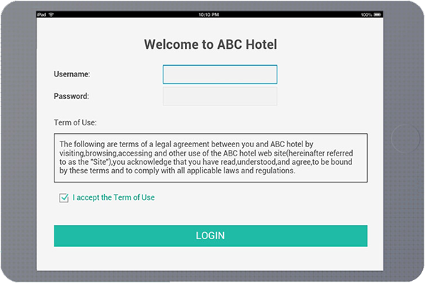 Efficient Guest Authentication Captive Portal